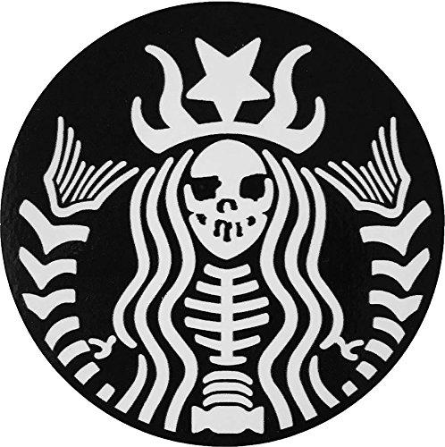 MAMA STICKER Bumper Demon Monster Skeleton Dead Mermaid Bone Skull Devil Ghost Zombie Tattoo Decal Symbol Sign Helmet Motorcycle Luggage Laptop Notebook Truck Water Bottle Halloween Scrapbook Gift