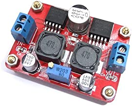 SUNKEE DC-DC Converter Module Step up and down In 3.5-28V Out 1.25-26V Adjustable (LM2596S+LM2577S)