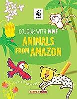WWF Animal Colouring Book - Amazon