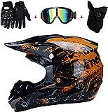 CHEYAL Adult Motocross Helm MX Motorradhelm ATV...