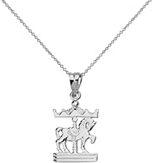 Best white gold horse charm Reviews
