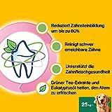 Pedigree DentaStix Fresh Hundesnack für große Hunde (25kg+), Zahnpflege-Snack mit Eukalyptusöl und Grüner Tee-Extrakt, 4 Packungen je 28 Stück (4 x 1,08 kg) - 4