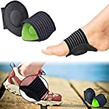 Nolofy Foot Care Arch Support Sleeve Cushion Heel Support Neuromas Plantar Fasciitis Flat Feet Orthopedic Pad Orthotic Tool Swelling & Pain Relief, Foot Care, Ankle Protection (1Pair)