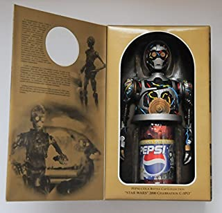 Pepsi Not for sale C-3PO sound bottle cap Star Wars SW