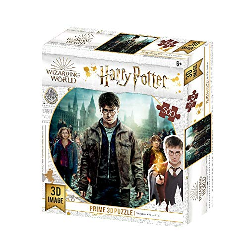 Prime 3D Puzzle lenticular Harry, Hermione y Ron (Efecto 3D)