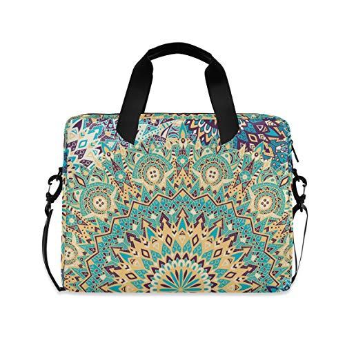 Laptop Bag, Vintage Design for Printing Laptop Backpack, Slim 16 Inch Briefcase Shoulder Bag Laptop Case