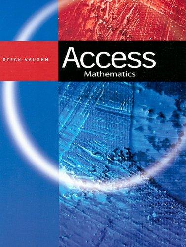 Access: Student Book Math