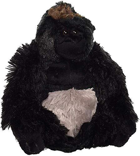 Wild Republic Silverback Gorilla Plush, Stuffed Animal, Plush Toy, Gifts for Kids, Cuddlekins 8 Inches