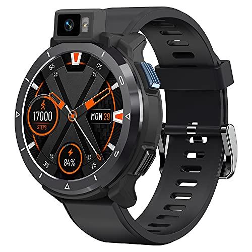 KOSPET Optimus 2 4G reloj inteligente Masculino 4GB 64GB 13MP Cámara 2260mAh 1.6'Android 10.7 Watch WiFi GPS reloj inteligente 2021