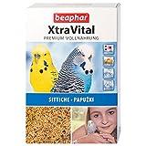 Beaphar XtraVital - Comida para periquitos, con Frutas y Huevos, con equinacea y Vitamina A, 24 variedades de Semillas Diferentes, 1 kg