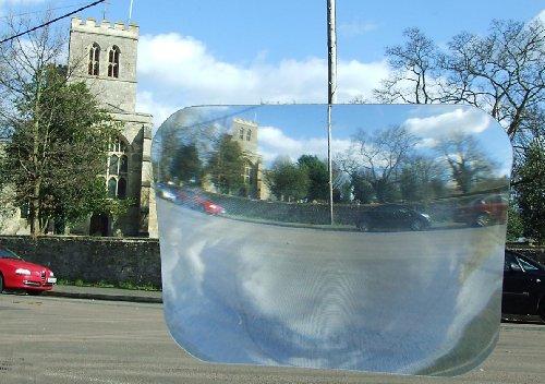 Great Ideas selbstklebend, breiter Winkel und Rückfahrkamera Einparkhilfe für den Car\'s, Rear View Heckscheibe-reduziert blinden Stellen, verbessert die Sicherheit