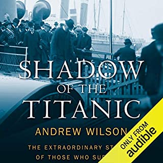 Shadow of the Titanic audiobook cover art