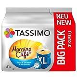Tassimo Morning Café XL Mild & Smooth, 5er Pack Kaffee Kapseln im Big Pack (5 x 21 Getränke)