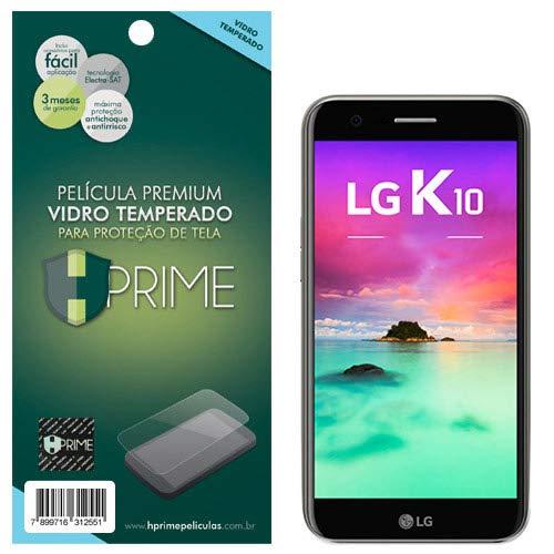 Pelicula de Vidro temperado 9h HPrime para LG K10 2017, Hprime, Película Protetora de Tela para Celular, Transparente