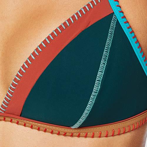 Banana Moon Taeko Teknicolo Top Bikini, Verde (Botella Sensitive), 38 para Mujer