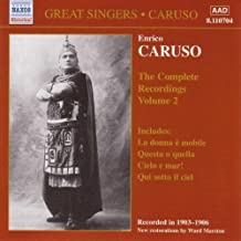 Enrico Caruso: The Complete Recordings, Vol. 2