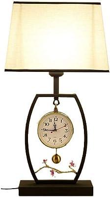 Lampe de table WHQ oculante de LED, éclairage Minimaliste de Bureau de Table de Nuit de LED pour la Chambre à Coucher/Salon/Chambre d'enfants/Bureau (Ampoule de E27 LED) [Classe énergétique A] Q