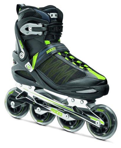 Roces Inline Skates Argon schwarz Black - Noir/Vert Acide 36