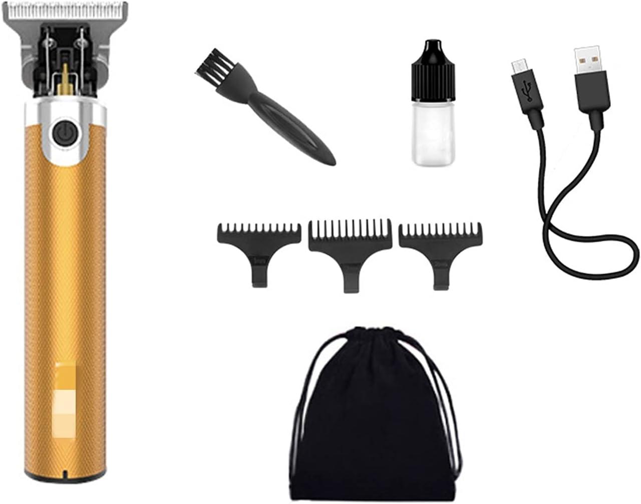 SHUYANshiyu Men's Silent sale Wireless Electric Color Max 82% OFF Hair Clipper :