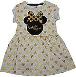 Disney Minnie Mouse Sparkle Robe pour fille - Beige - 8_ans