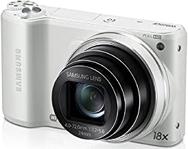 Samsung WB250F 14.2MP CMOS Smart WiFi Digital Camera with 18x Optical Zoom, 3.0