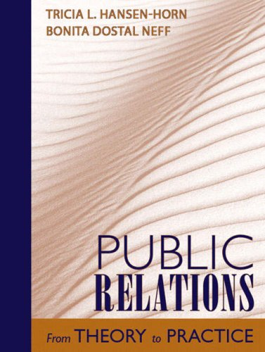 Public Relations: From Theory to Practice