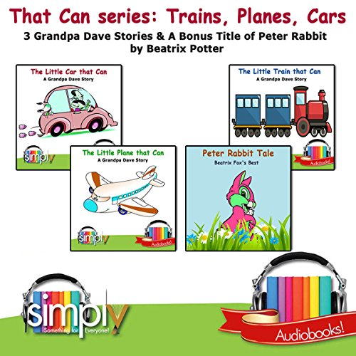 That Can Series: Trains, Planes, Car audiobook cover art