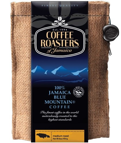 Coffee Roasters of Jamaica - 100% Jamaika Blue Mountain Kaffee-Spezialitäten, ganze Arabica Kaffeebohnen, 1er Pack (1 x 454 g)