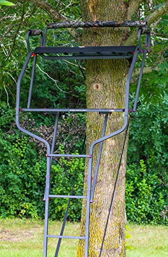 X-Stand MaX XL Ladder Stand 15 ft, Black