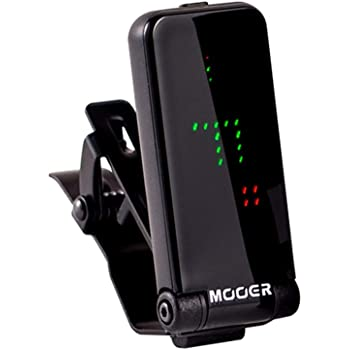 MOOER Clip on Tuner Electric Guitar Tuner Bass Guitar Tuner Acoustic Guitar tuner Chromatic tuner All Instruments Tuner