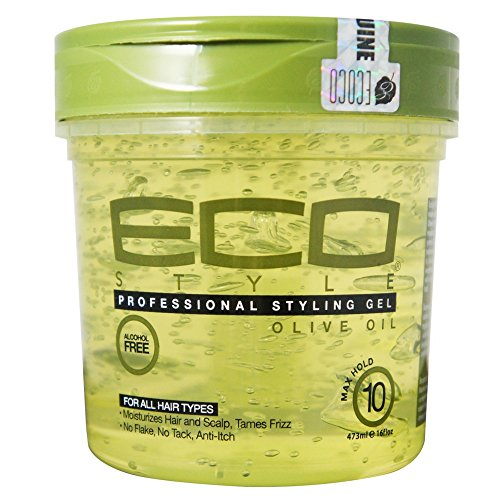 Price comparison product image Eco Professional Styling Gel Olive Oil, 16 Ounce(pack of 2)