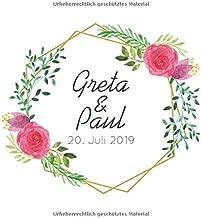 Greta Paul Gästebuch Hochzeit Mit Den Namen Des