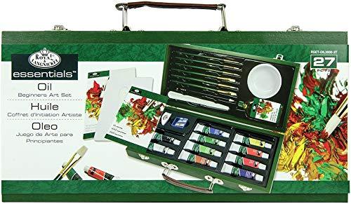 Royal and Langnickel Deluxe Kit peinture à l'huile pour débutant