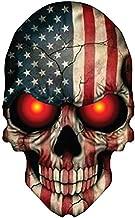 OTA STICKER Skull Skeleton Devil Demon Monster Ghost Zombie American Flag USA Military Support Decal Helmet Cell Phone CASING Laptop Notebook Scrapbook Luggage Motorcycle Truck SUV PPV Door Window