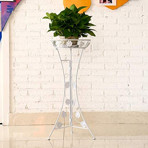 Hongqi Metal Plant Stand Flower Stand for Wedding Indoor Outdoor Home Decoration 33.5 X 26 X 78cm Colour Name:Golden (Bronze) (Color : Golden)