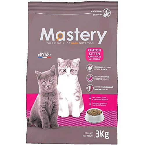 Mastery Nourriture pour Chat Chaton, Croquettes pour Katzenbabys - 3 kg