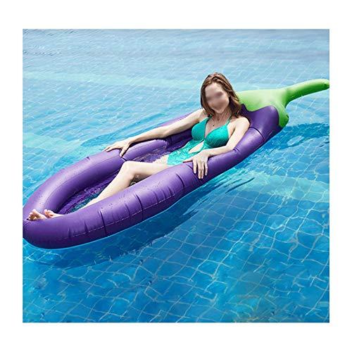 ZXYY Hamaca de Agua Piscina Cama Flotante Inflable Silla Flotante Sofá de Agua, Alfombra de Playa para Piscina Beach Sea,E