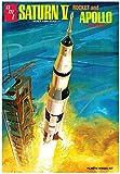AMT NASA Saturn V Apollo Moon Rocket Replica 1:200 Scale (21' Long) Model...