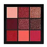 VICCKI Cosmetic Matte Eyeshadow Cream Makeup Palette Shimmer Set 9 Colors Eyeshadow (C)