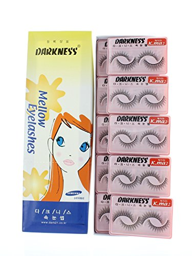Darkness False Eyelashes K-MA 2, 10 Piece by Darkness False Eyelashes