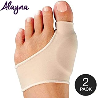 Alayna Bunion Corrector and Bunion Relief Sleeve with Gel Cushion Pads Splint Orthopedic..