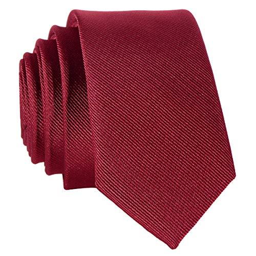 Schmale türkise Krawatte - von Hand gefertigt // verschiedene Farben wählbar