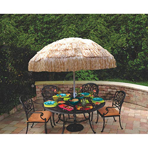 "professional Amscan Tiki Party Umbrella、71 ""x 61"""
