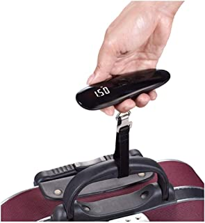 DYHOZZ 50g50kg Baggage, Portable Luggage Scale, Express Parcel Scale, Electronic Scale, Portable Scale (Color : Black)