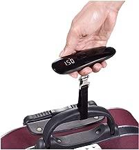 LIUXIN 50g50kg Baggage, Portable Luggage Scale, Express Parcel Scale, Electronic Scale, Portable Scale (Color : Black)