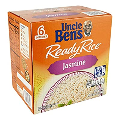 Uncle Bens Uncle Bens Jasmine Ready Rice 6 Pouches / 8.5 Ounce Net Wt 51 Ounce