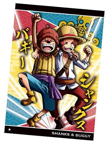 【No.8-6 シャンクス&バギー (N ノーマル) 】 ワンピースウエハース 天下無双の大海賊