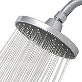 Luxe RainLuxe Shower Head Round High Pressure High Flow Showerhead...