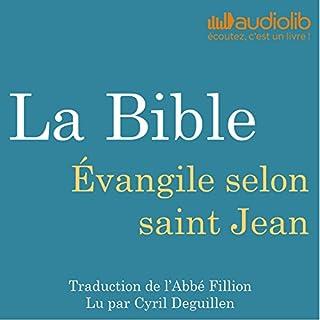 Couverture de La Bible : Évangile selon saint Jean