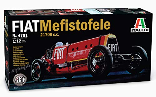 Italeri 510004701 - 1:12 Fiat Mefistofele 21706c.c. 1923-25, Fahrzeug